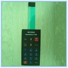 3X6 matrix membrane keypad with 3M double-side adhesive
