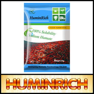 Huminrich Shenyang Fish Feed Additive Sodium Humate Poultry Feed Rate In India