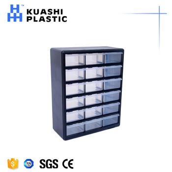 Warehouse Wall Mounted Small Square Plastic Storage Box