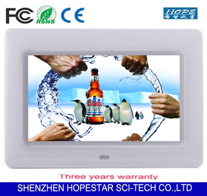 "CE FCC ROHS 10"" inch Floor standing LCD advertising player"