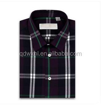 Overhemd Zwart Wit.Zwart Wit Geblokte Business Shirt Herfst Mannen Grijs Patroon Slanke
