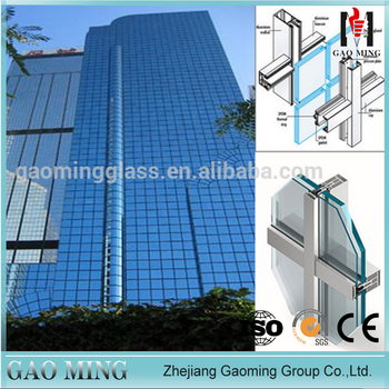 gm aluminum frame glass facade architectural glass facade 4984 buy