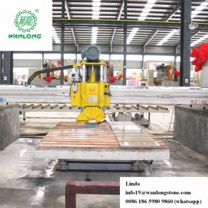 "14"" Circular Blade Bridge Saw machine for granite stone marble quartz granite machinery cutting"