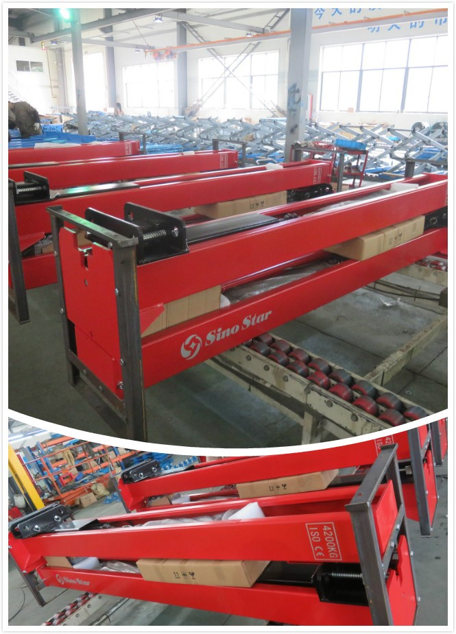 2 Post Car Lift /electric motor screw lift lift tables/5m lift height scissor lift(SS-6254E)