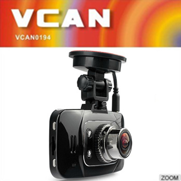 "VCAN0906 2.7"" inch LCD screen mini portable car dvr with GPS path built in G-Sensor/Motion detect 170 degree"