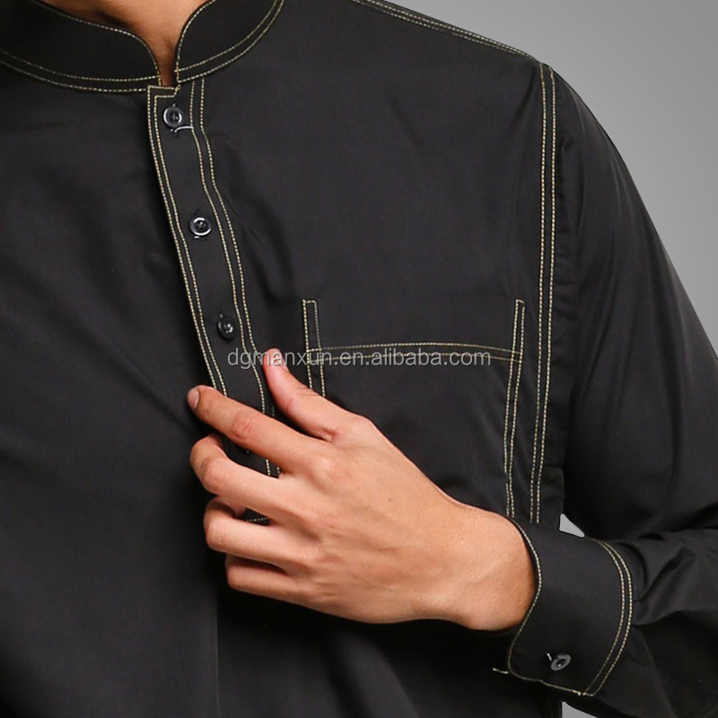 Top Quality Mens Arabic Jubah Latest Arabic Daffah Abaya OEM Supply Type Clothing For Men