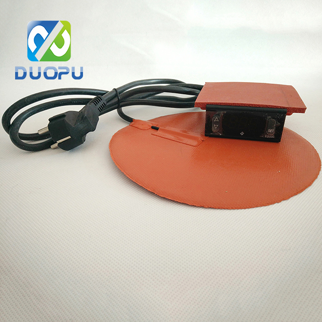 Waterproof 12v silicone rubber heating pad from duopu