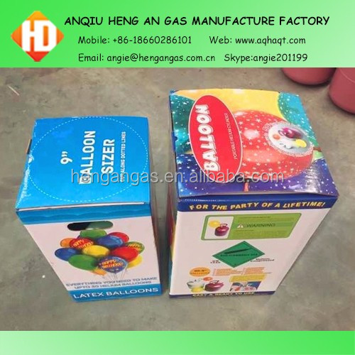 Small Helium Tank Disposable Helium Cylinder Helium Gas