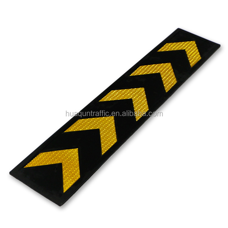 2017 Custom High Reflective rubber pillar guard parking column corner guard
