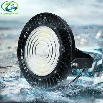 Industrial UFO Highbay IP65 Waterproof 170lm/W 200W LED High Bay Lights  with reflector high brightness