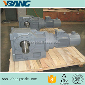 K series Helical Bevel Geared Motor 3kw 4kw 5.5kw 7.5kw 11kw 15kw