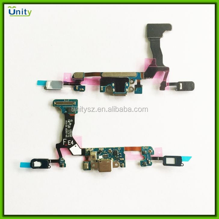 Mobile phone charging port flex for Samsung Galaxy S7 edge dock connector charger flex cable