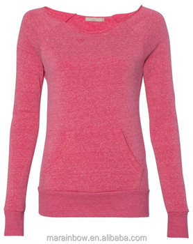 Wholesale Custom Crewneck Sweatshirt Women Blank Cotton Polyester