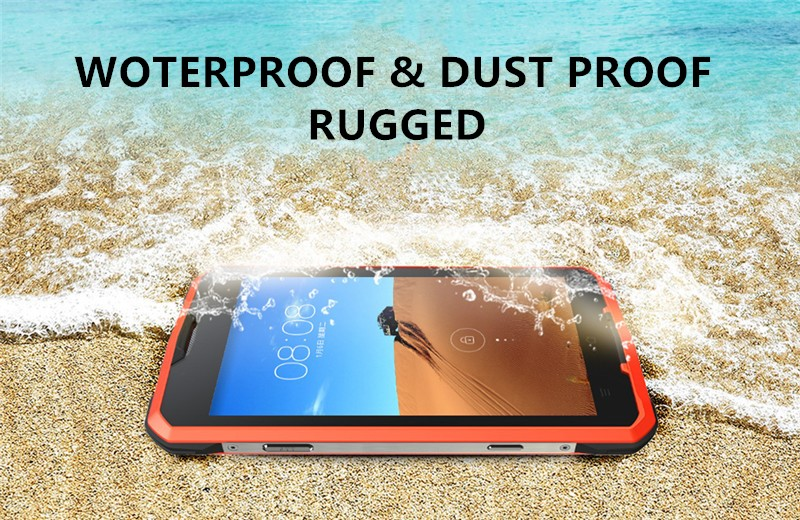 Dual Sim Shockproof Dustproof Cell Mobile Android smart Rugged 4G LTE Cellphone Water Proof IP68 Smartphone Waterproof Phone