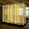 modern decor restaurant curtain room dividers