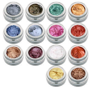 waterproof magic eyeshadow makeup new 3d crystal lustre eye silgle color bright shadow magic specular liquid eyeshadow