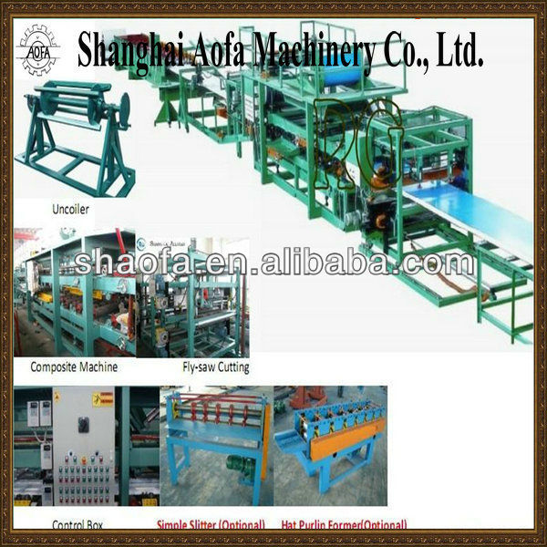 eps panel making roll forming equipment