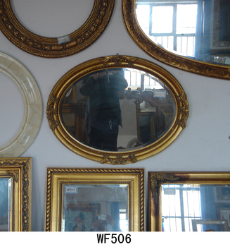 Legno Antico Ovale Rotondo Cornici Specchio Buy Specchio