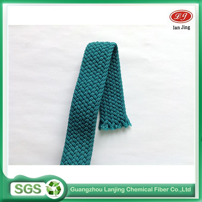 Custom color strap webbing for waistband