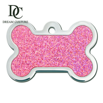 wholesale factory direct sale  price custom metal dog collar tags