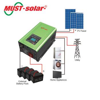 Circuito Electrico En Serie : Debe solaru003e pv3000 mpk serie convertidor eléctrico para casa
