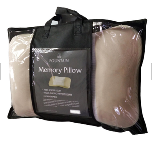 OEM hotsales Shredded memory foam bamboo neck pillow