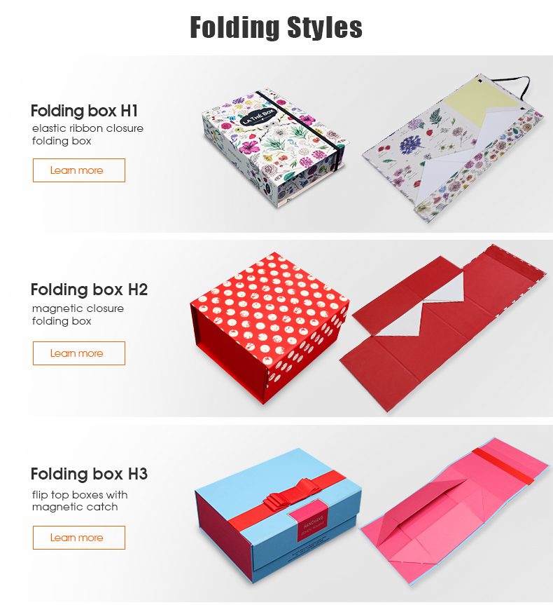 HC Packaging New Product Custom luxury foldable shoe  storage Boxes with lid