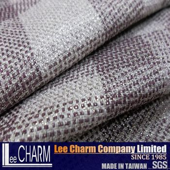 Lcl116 Plaid Room Furniture Upholstery Fabric Types