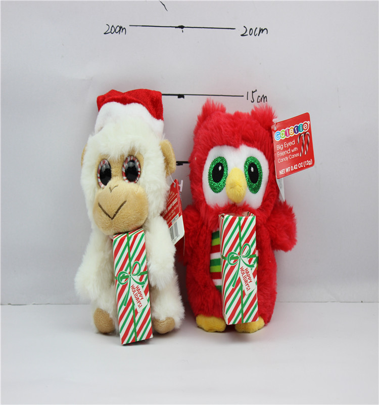 Christmas Stuffed Plush Elf Toys Holiday Plush Characters For Baby