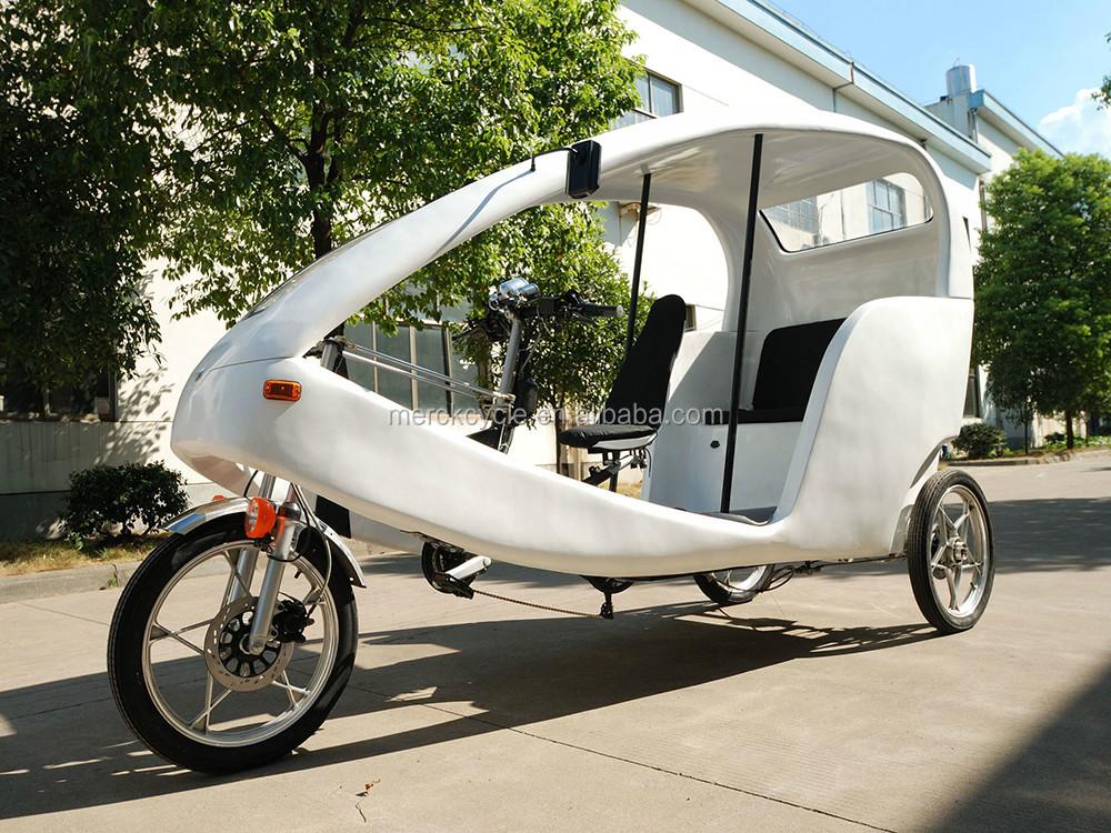 passagers trois roues v lo avec toit v lo lectrique id de. Black Bedroom Furniture Sets. Home Design Ideas