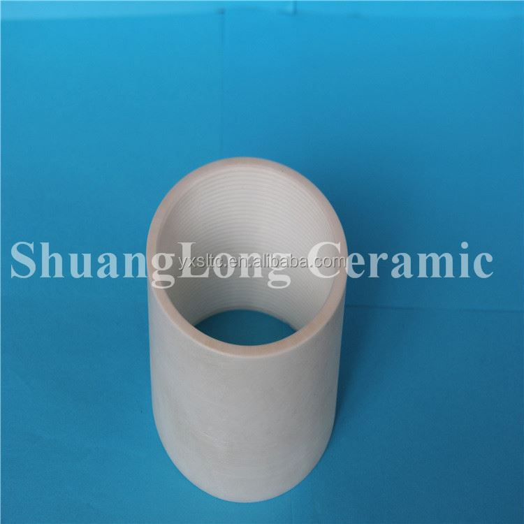 Alumina substrate si3n4 tube insulating glazed steatite ceramic for heater