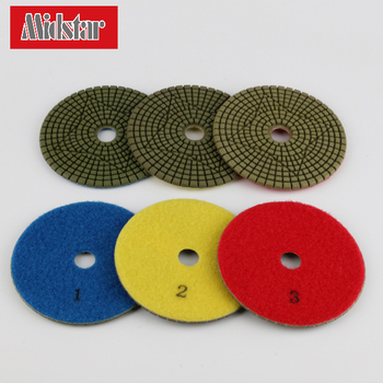 3 steps diamond floor polishing pad wholesale
