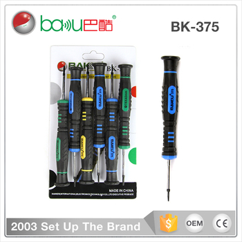 BAKU High quality electonic precision scrwdriver set for iphone and universal mobile phone (BK375 )
