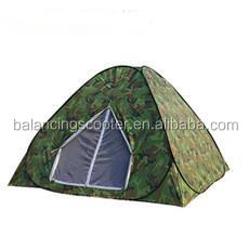Army green camouflage wire automatic windproof tents