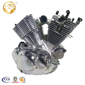 Factory Direct sale 2 Cylinder V-twin 250cc Motorcycle Engine