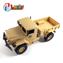 4 channel four-wheel drive cross country truck rc military vehicles for sale