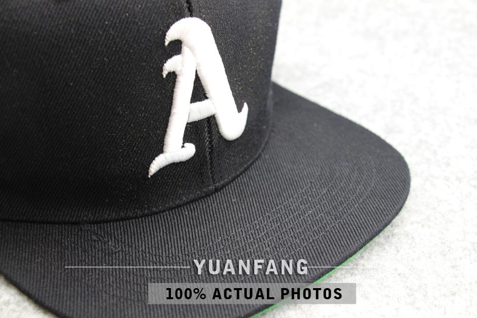 1ce91ac1 Custom Snapback Hat with Green Under Brim Cheap Flat Bill Snapback Cap