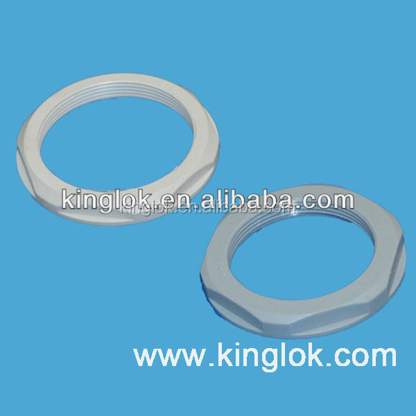 Polyamide Lock Nut Cable Glands Locking Nut Plastic fastener