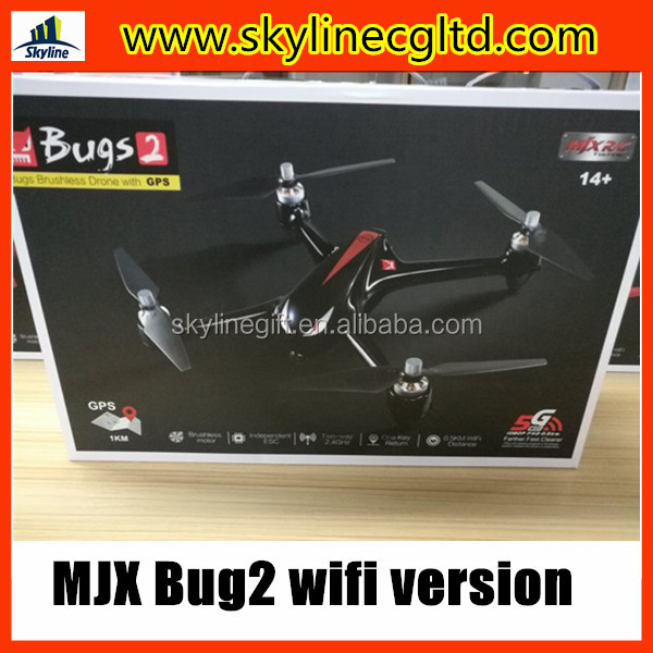 MJX B2W Bugs 2W Brushless motor Quadcopter GPS drone ESC 1080P Camera Wifi FPV Drone GPS RC Quadcopter