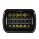 High Quality Auto Accessories 5X7 Sealed Beam LED Headlight 12v 24v 85w h4 headlamp DRL Emark Approved For Jee 4x4 Duty