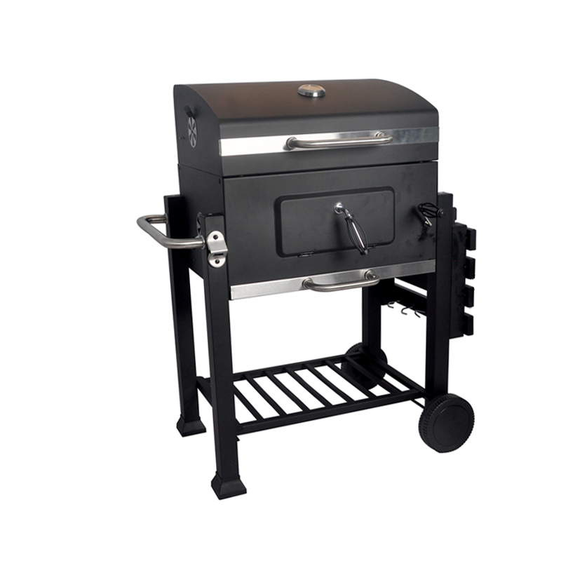 SEJR Outdoor Grote Houtskool BBQ Barbecue Grill Vlees Roker 83.5x71.5x108.5 cm