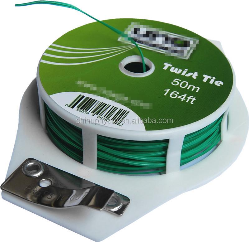 Garden Tie Wire : Heavy duty twist ties rebar bag wire tie
