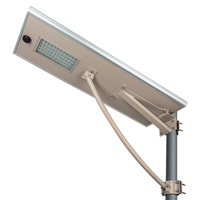 New products solar-lighting commercial slim 60w Aluminum alloy led street light