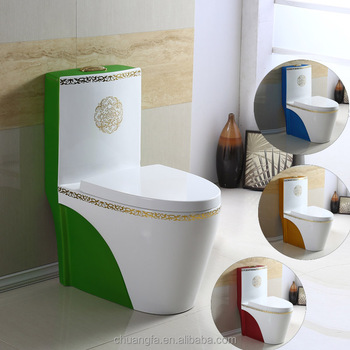 ... China P-Trap Color Toilets for Sri Lanka Market ...
