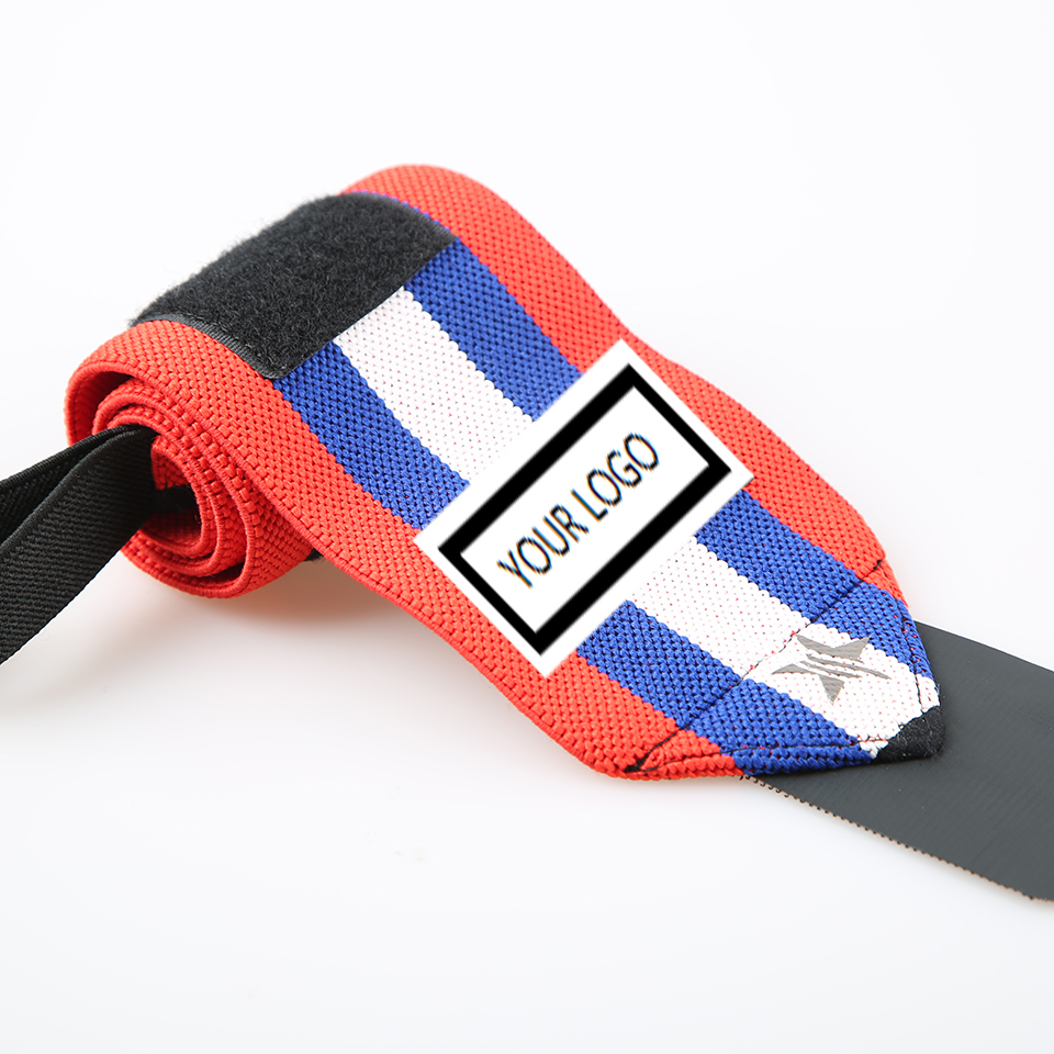 L-SWW-02 gym fitness adjustable power lifting <strong>weight</strong> lifting wrist straps wrist wraps
