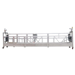 zlp630 construction building facade cleaning equipment suspended lifting platform  cradle