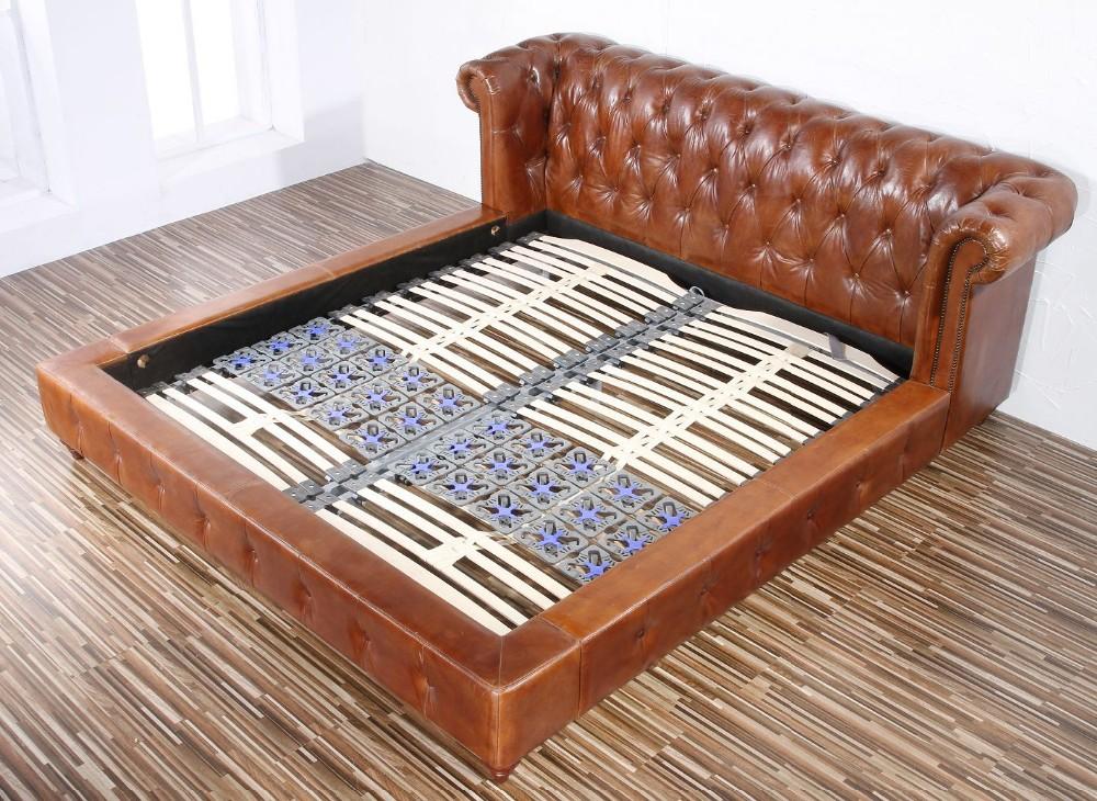 Antiguo sof de cuero sof cama camas identificaci n del - Sofa cama chesterfield ...