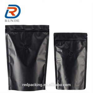 Aluminum Foil Printed Stand Up Plastic Zipper Top Tea Packing Bag
