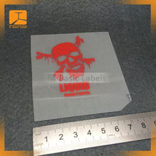 Wholesale Cheap T-shirt silicone heat transfer label/custom t shirt printing