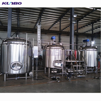 KUNBO 7 Barrel BBL Brewery Brewing System Equipment For Beer